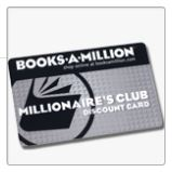 Books a Millions - Millionaires club card