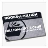 Books a Millions - Millionaires club card