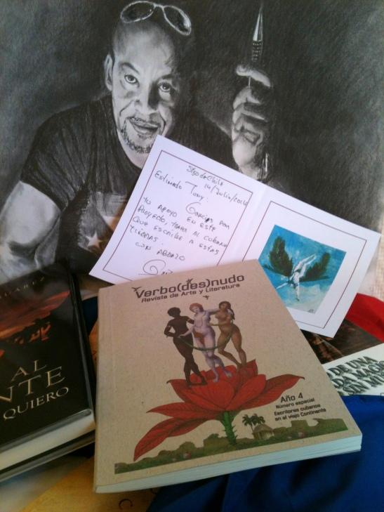 Literary PopArt - El idílico Existencialista edición especial de la Revista de la Editorial Chilena Verbo Desnudo.