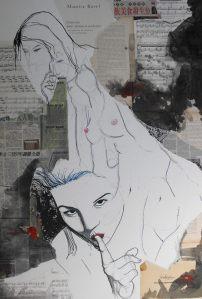 La viuda de la noche by Vincent Tessier