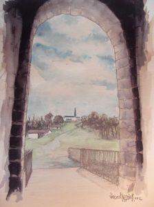 Viejos muros by Vincent Tessier