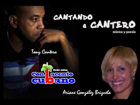 Con acento cubano afiche Ariane con Tony