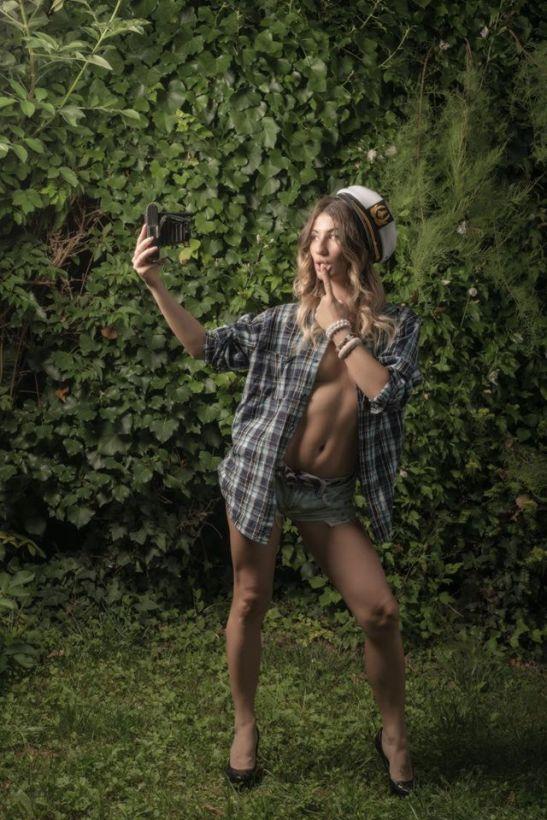 Un vieux selfie by Ariel Arias