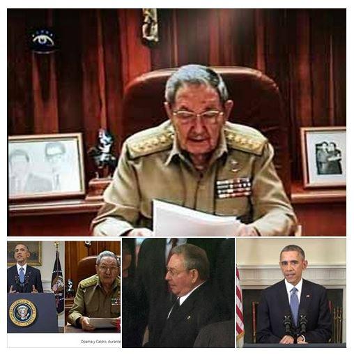 Castro & Obama acercamiento politico Cuba EUA