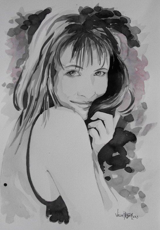 La belle fille d'a cote by Vincent Tessier