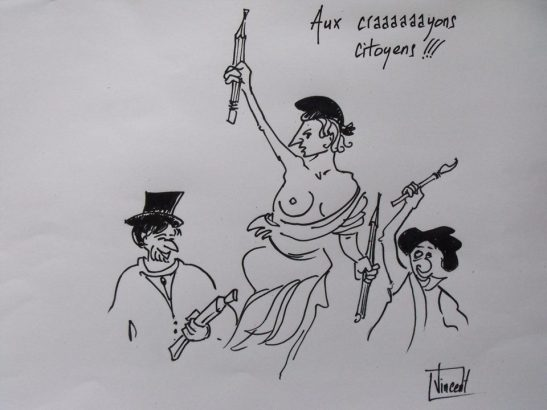 AUX CRAYONS CITOYENS by Vincent Tessier