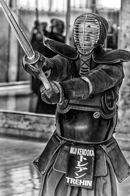El samurai justiciero Loic Trehin by Ariel Arias