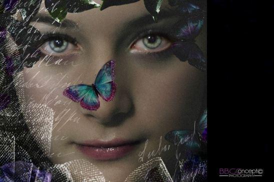 New romantic, le temps des violettes, Dark Romance Modèle Oriane Gidron Photo Art by Eva Moreno BBGC Copyright