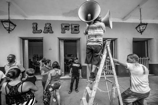 La Fe - parrandas — in San Juan De Los Remedios, Villa Clara, Cuba by Ariel Arias