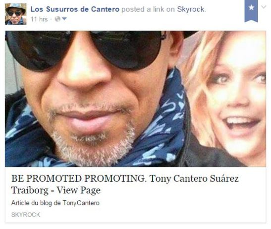 Cattura Be promoted promoting