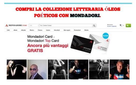 COMPRI LA COLLEZIONE LETTERARIA OLEOS POETICOS CON MONDADORI