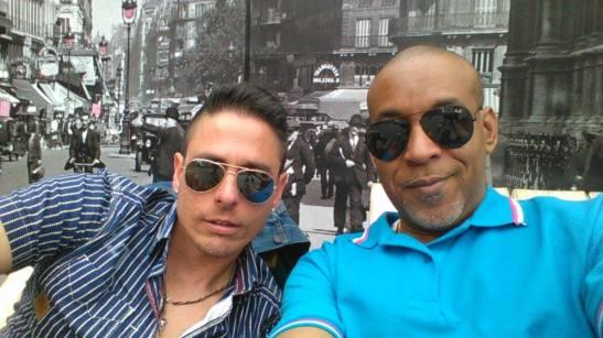 Tony Cantero Suarez & Miky Castañeda engaña ojos del Hotel de Ville de Paris