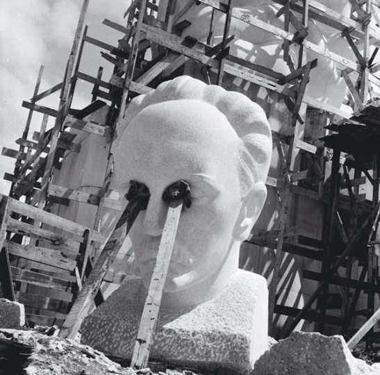 Construccion de la estatua de Marti Plaza de la revolución de la Habana