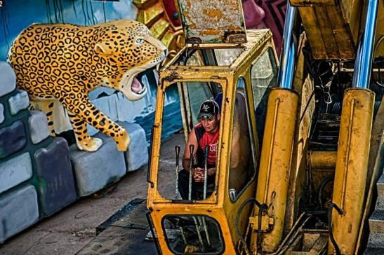 El ataque de la fiera — in San Juan De Los Remedios, Villa Clara, Cuba. by Ariel Arias