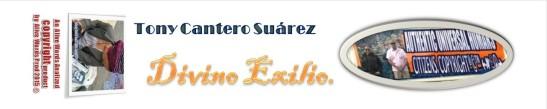 Maqueta Lomo Divino Exilio - Tony Cantero Suarez