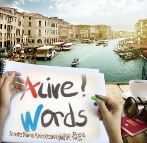 Alive Words Prod Afichel Copyright by Tony Cantero Suárez