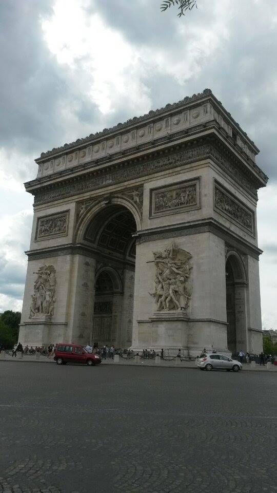 El Arco de Triunfo, Paris Tony Cantero Suárez