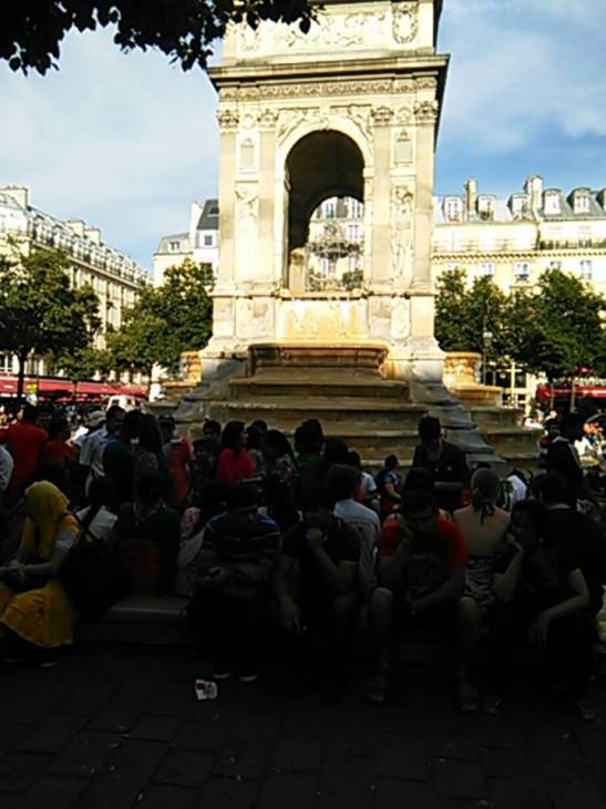 Fontaine des Inocents a Paris Tony Cantero Suarez