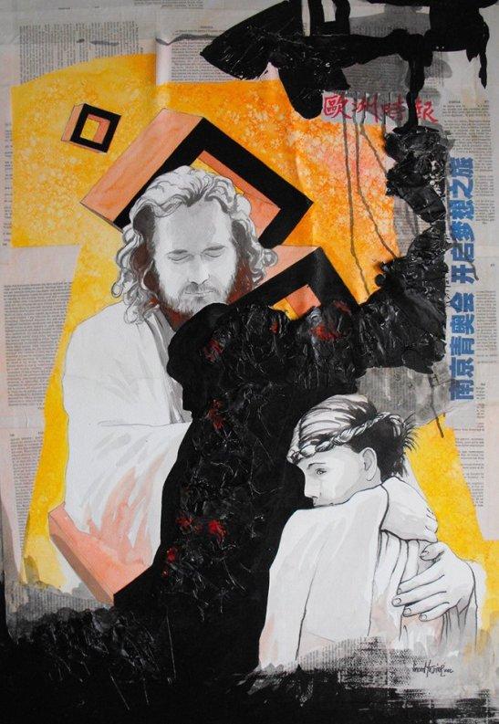 Je ne suis pas l'homme de mes peintures Copyright by Vicent Tessier