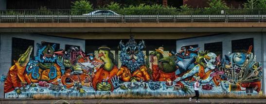 Jurassic Sherwood Life. Graffiti — in Saarbrücken - unglaublich vielfältig by Ariel Arias