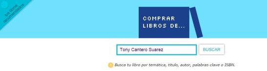Compra libros de Tony Cantero Suarez banner