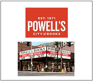Powell's Books advertising for Tony Cantero Suarez books