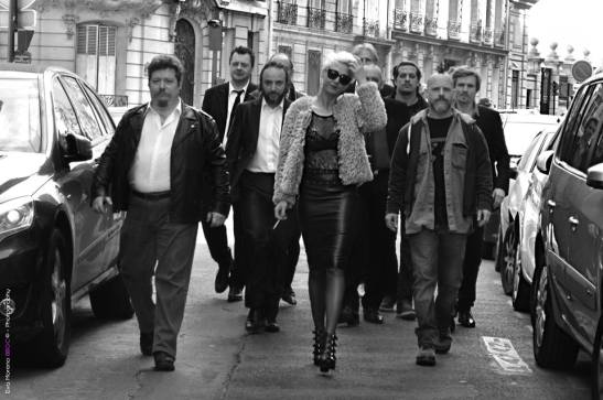 The Gang - Lorena Demay, et des membres du groupe Quoi ma gueule - Photos Eva Moreno BBGC- copyright
