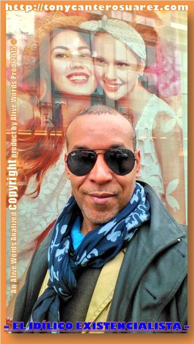 Afiche El Idilico Existencialista Copyright by Tony Cantero Suárez