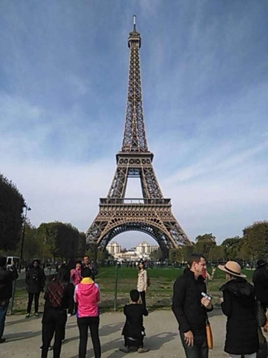 Torre Eiffel Paris by Tony Cantero Suarez