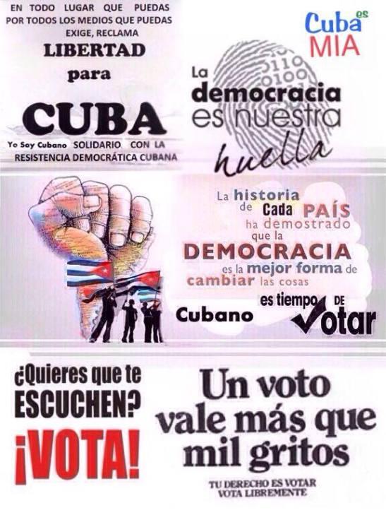 Si Voto cambio Cuba 5