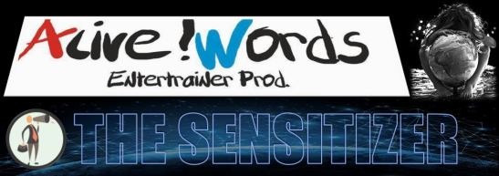 AFICHE ALIVE WORDS PRODUCTIONS The Sensitizer