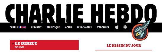 Logo Charlie Hebdo Web