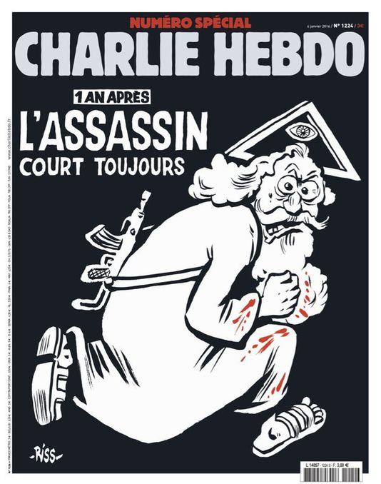Portada de Charlie Hebdo 06012016