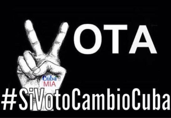 Si Voto cambio Cuba 2