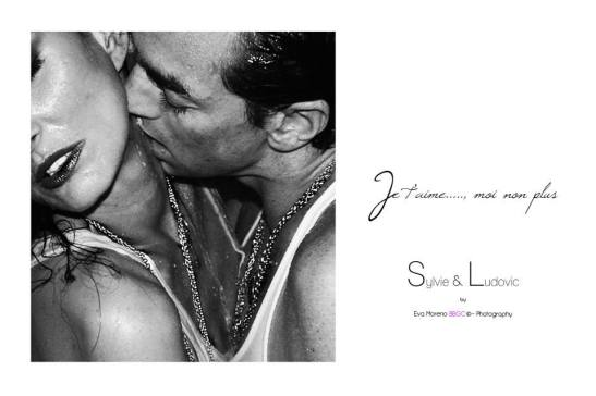 Under the shower - Sylvie Ortega Munos & Ludovic Chancel by Eva Moreno