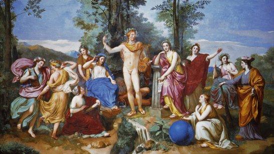 El Parnaso 1761 Anton Raphael Mengs