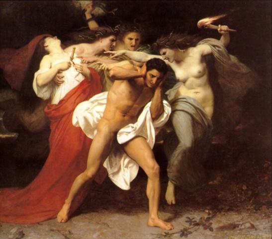 Orestes perseguido