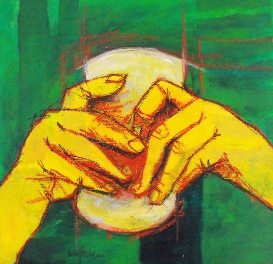 Con las manos llenas by Vincent Tessier