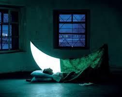 durmiendo con la luna