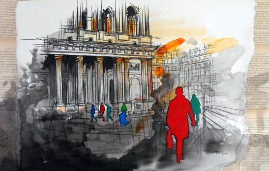 El caminante by Vincent Tessier