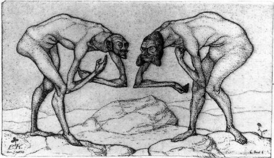 paul-klee-encuentro-de-dos-hombres-que-conjeturan