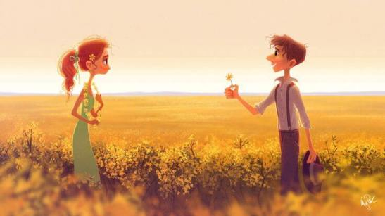 hombre-ofreciendo-flor-a-una-chica-animado