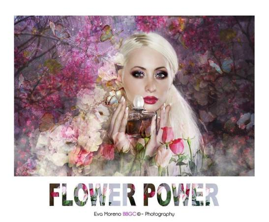 New Romantic - Flower power - The colors of the romantism Modèle Albine by Eva Moreno Copyright BBGC 2017