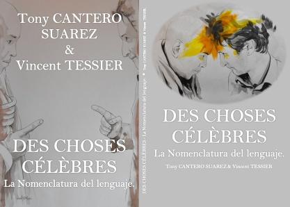 Caratula completa Des choses celebre by Tony Cantero Suárez