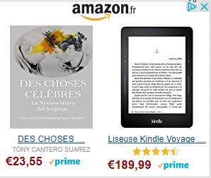 banner amazon - des choses celebres