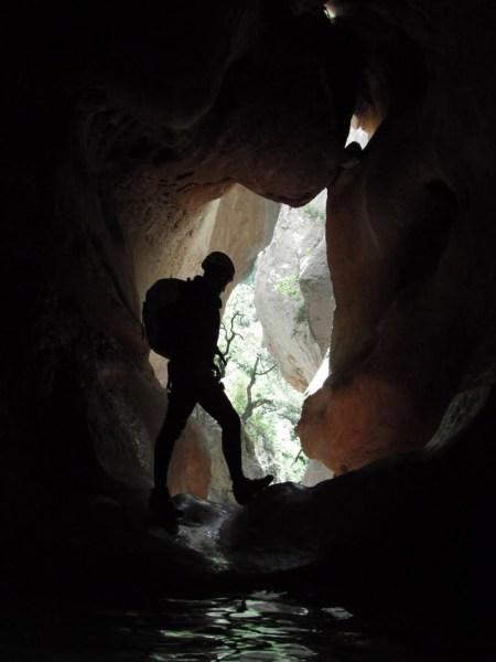 en la cueva