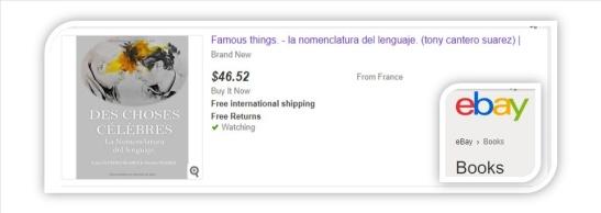 banner Des choses celebres ebay