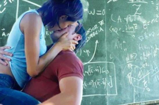 haciendo el amor en el aula
