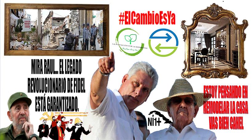 El legado del castrismo es represion y reuina en Cuba