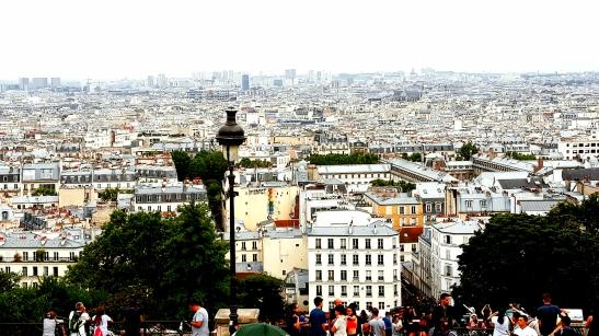 Paris visto desde Montmartre